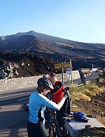Self guided cycle tour Etna